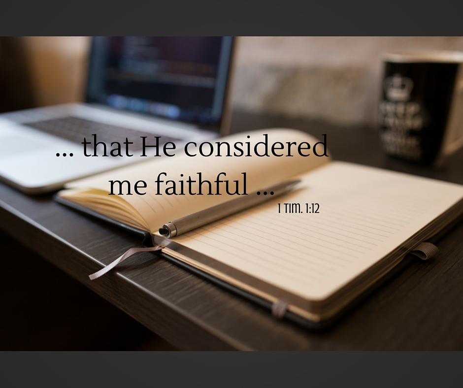 Considered faithful ...